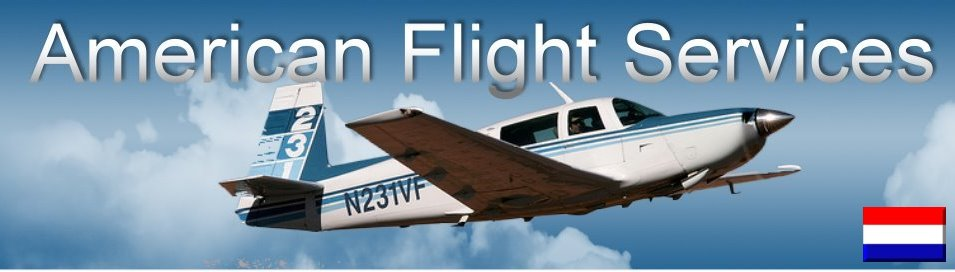 Vlieglessen Flight Lessons American Flight Services Rotterdam The Hague Airport  Flight Training