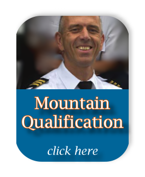 Mountain Qualification. Flight Lessons American Flight Services Rotterdam The Hague Airport  Flight Training