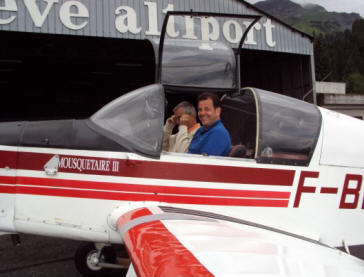 Mountain Qualification lessons by American Flight Services Rotterdam The Hague Airport Holland.